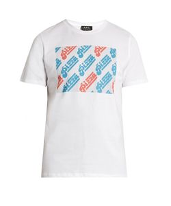 A.P.C. | Pizza-Print Cotton-Jersey T-Shirt