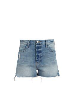 Frame | Le Original Tulip-Hem Shorts