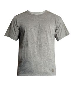 ADIDAS BY WINGS & HORNS | Fading-Stripes Cotton-Blend T-Shirt