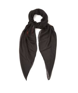 Givenchy   Rottweiler-Print Cashmere-Blend Scarf