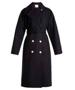 Tibi | Notch-Lapel Double-Breasted Coat