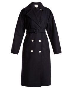 Tibi | Notch-Lapel Double-Breasted Coat