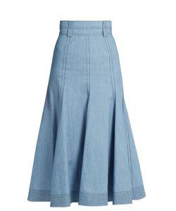 Gabriela Hearst   Wytte Denim Midi Skirt