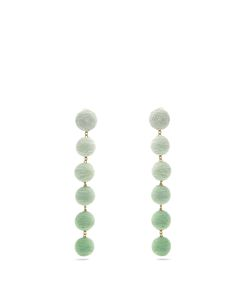 Rebecca De Ravenel | Corded-Silk Drop Earrings