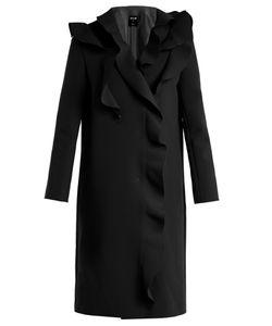 MSGM | Ruffled Crepe Coat