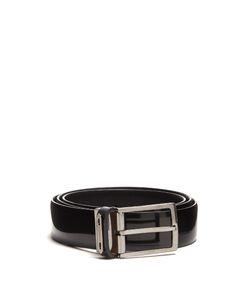 Lanvin | Reversible Leather Belt