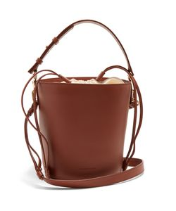 J.W. Anderson | Bucket Leather And Canvas Tote