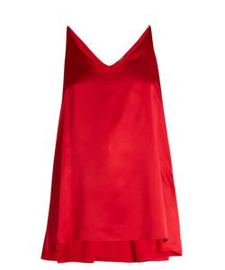 Adam Lippes | Step-Hem Silk-Satin Cami Top