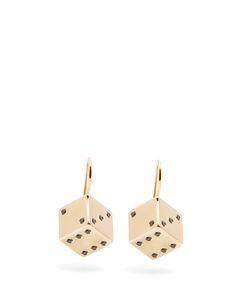 ALISON LOU | Diamond Dice Earrings