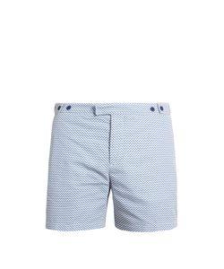 FRESCOBOL CARIOCA | Tailo Sidewalk-Print Swim Shorts