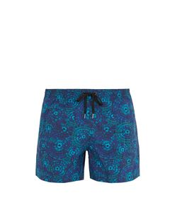 DANWARD | Chrysanthemum-Print Swim Shorts