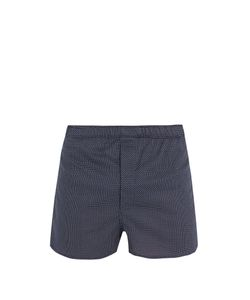 Derek Rose | Plaza Cotton-Poplin Boxer Shorts