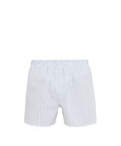 Sunspel | Line Stripe-Print Cotton Boxer Shorts