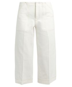 Acne | Texel Cropped Wide-Leg Jeans