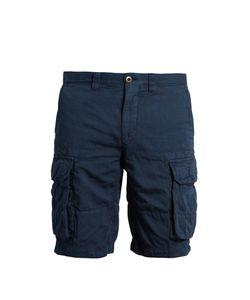 Incotex | Slim-Leg Cotton-Blend Cargo Shorts