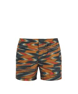 Missoni Mare | Large-Zigzag Print Swim Shorts