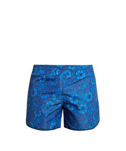 Robinson Les Bains   Cambridge Long Print Swim Shorts