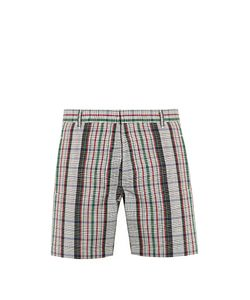 ORLEY | Cub Checked Wool Shorts
