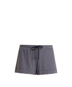 Skin | Striped Jersey Pyjama Shorts