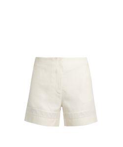 ZEUS + DIONE | Mahi Raw-Silk Shorts