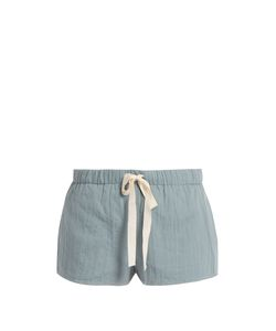 LOUP CHARMANT | Drawstring Cotton Shorts