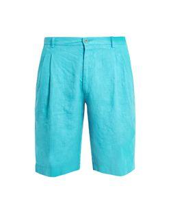 Etro | Mid-Rise Linen Shorts
