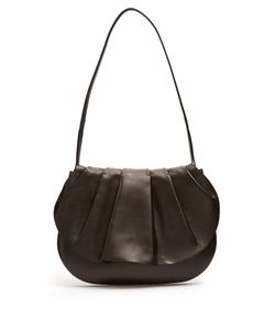 The Row | Fan 12 Pleated Leather Shoulder Bag