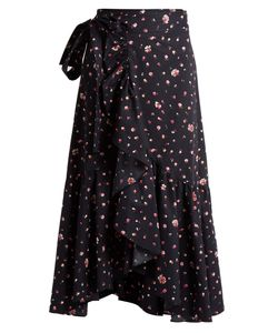 Rebecca Taylor | Mia Print Cotton Wrap Skirt
