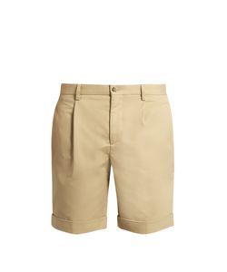 Éditions M.R | Pleat-Front Cotton Shorts