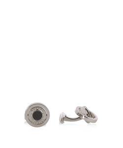 Dunhill | Carbon-Fibre Palladium-Plated Cufflinks