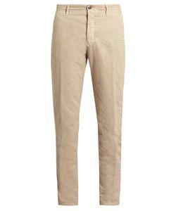 Incotex | Slim-Leg Stretch Cotton-Blend Chino Trousers
