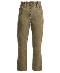 Current/Elliott | The Paperbag Relaxed-Leg Trousers