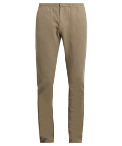 Sunspel | Elasticated Waist Slim-Fit Trousers