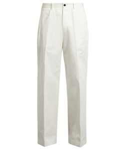 Tomorrowland | Wide-Leg Cotton Chino Trousers