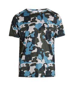 NEWLINE | Camouflage-Print Running T-Shirt