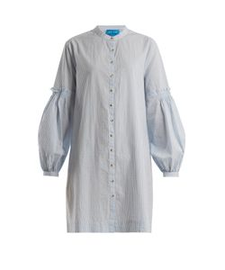 Mih Jeans | Myers Striped Crinkled-Cotton Shirtdress