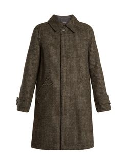A.P.C. | Dinnard Prince Of Wales-Checked Wool Coat