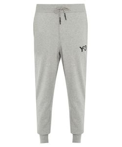 Y-3 | Logo-Print Cotton Track Pants