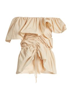 LEMAIRE | Ruffled Cotton Top