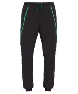 COTTWEILER | Contrast-Trim Tapered-Leg Nylon Track Pants