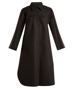 Red Valentino | Single-Breasted Wool-Blend Coat