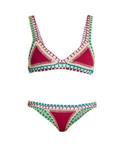 KIINI | Coco Crochet-Trimmed Triangle Bikini