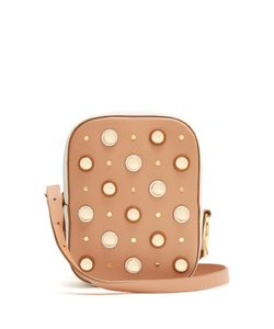 Diane Von Furstenberg | Stud-Embellished Cross-Body Bag