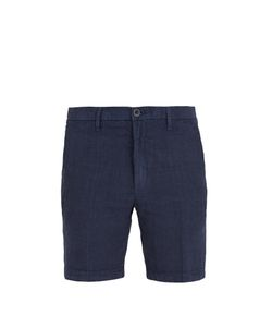 120% Lino | Straight-Leg Linen Shorts