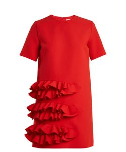 MSGM | Ruffled Crepe Mini Dress