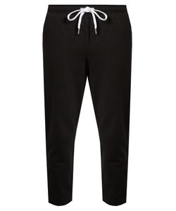 THE UPSIDE | Cropped Cotton Performance Track Pants