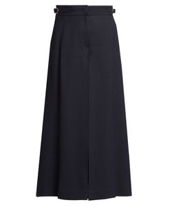 Gabriela Hearst | Eleanor Wide-Leg Twill Cropped Trousers