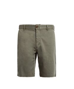 Faherty | Slim-Fit Cotton-Blend Chino Shorts