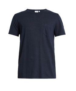 Onia | Chad Linen-Blend T-Shirt