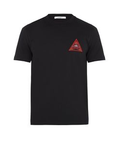 Givenchy | Cuban-Fit Eye-Embroidered T-Shirt